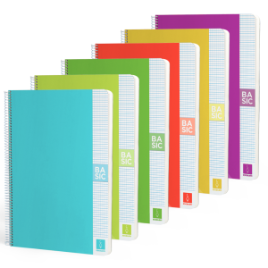 Cuadernos colores
