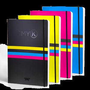 Cuadernos cmyk tribute