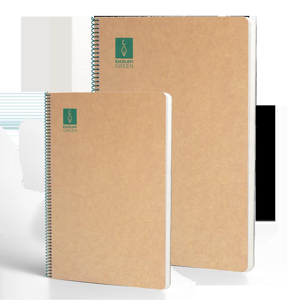 Cuaderno reciclado