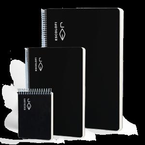 Cuaderno elegante tapa negra