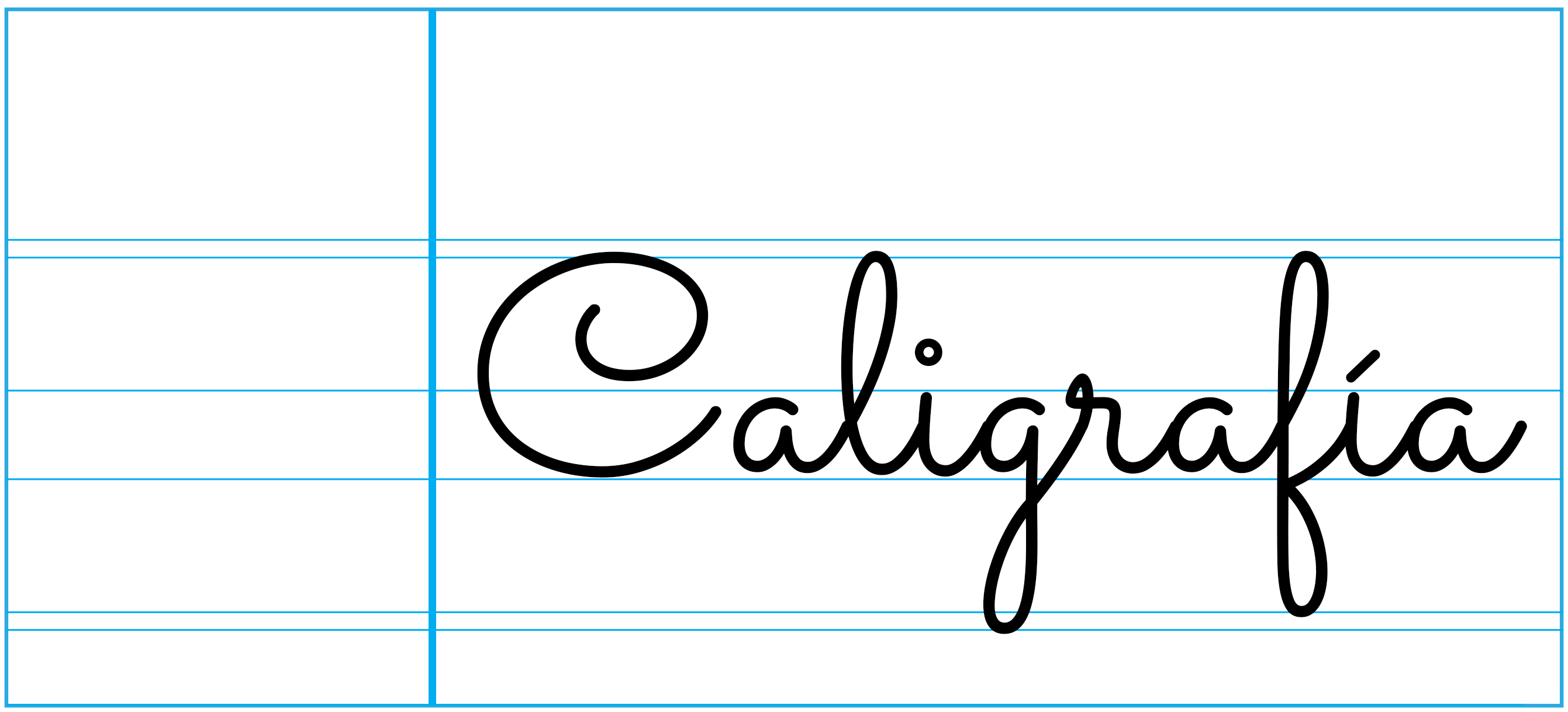 caligrafia Montessori